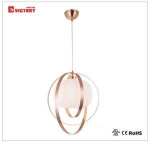 LED Modern Pendant Lamp Chandelier Light with Opal Glass pictures & photos