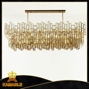 Stainless Steel Modern Crystal Pendant Lamp for Home Use pictures & photos