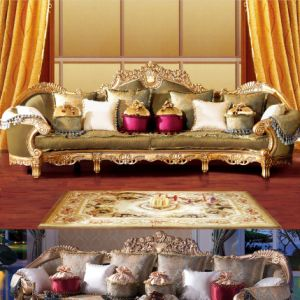 Wooden Sofa Set with Sofa Chair for Home Furniture (D962) pictures & photos