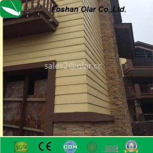 Fiber Cement Board-- Wood Grain Decoration Panel 200*3000*7.5/9 pictures & photos