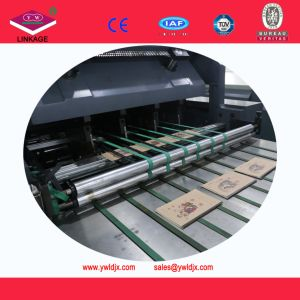 Fully Automatic Cold Glue Taped Notebook Production Line China pictures & photos
