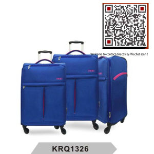 Ultra Light 4wheels Nylon Soft Luggage (KRQ1326) pictures & photos