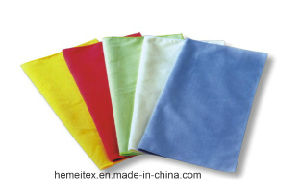 Microfiber Cleaning Towel/Glass Towel pictures & photos