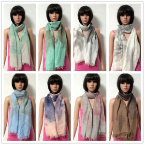 100% Polyester, Voile Material Multifunctional Scarf with Printing pictures & photos