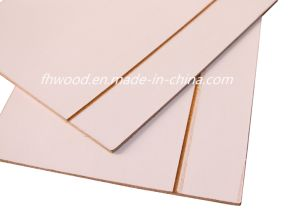 3mm Paper Overlaid Decorative Hardboard Wtih Black Grooves pictures & photos