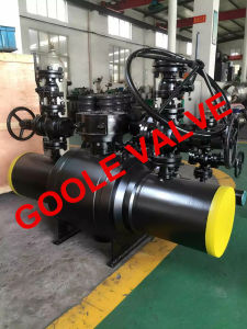 Full Bore Discharging Type Buried Fully Welded Ball Valve (GAQ61PPL) pictures & photos