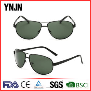 Professional Ynjn Wide Temples Mens Sunglasses Brand Your Own (YJ-F8415) pictures & photos