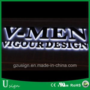 Outdoor Strong Huge Size Advertising LED Backlit Acrylic Signages pictures & photos