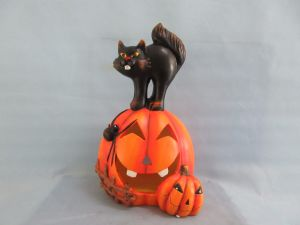 Halloween Pumpkin Ceramic Arts and Crafts (LOE2682-47z)