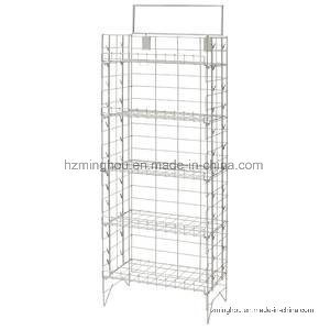 Retail Store Metal Potato Chip Snack Storage Display Stand Rack pictures & photos
