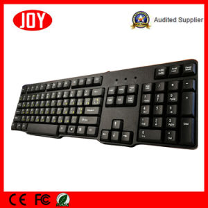 Cheap USB Computer Wired Djj318 Mini Multimedia Slim Keyboard pictures & photos