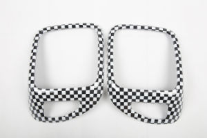 Auto Accessory ABS Material Checkered Style Rear Lamp Cover for Renegade Model (2PCS/SET) pictures & photos