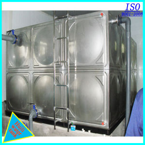 Stainless Steel Water Storage Tank with ISO pictures & photos