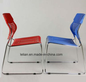 Good Quality Plastic Writing Training Dining Chair pictures & photos