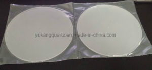 Diam160*Thickness5mm Grinded Surface Quartz Plate with Hole pictures & photos