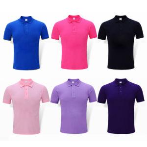 Golf Polo Unisex Quick Dry Cotton Plain Cotton Polo Shirt pictures & photos