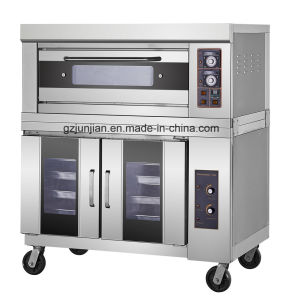 Double-Layer Two-Trays Electric Oven Kitchen with Built in Bakery pictures & photos