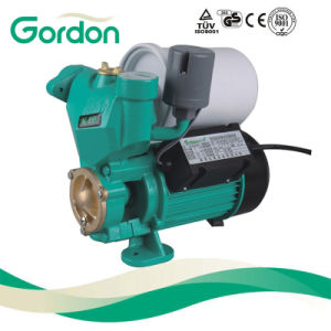 Electric Pond Copper Wire Self-Priming Auto Pump with Pressure Gauge pictures & photos