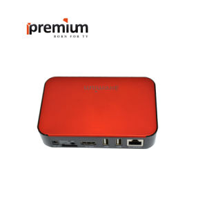 Ipremium TV Online+ Smart TV Box with Quad Core 2.4G WiFi IPTV with Mickyhop OS Stalker Media Player pictures & photos