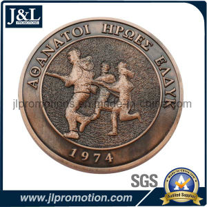 High Quality 3D Challenge Coin No Enamel pictures & photos