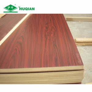 Best E2 Glue 18mm Laminated Midium Density Fiberboard MDF Supplier pictures & photos