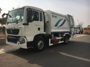 Sinotruk HOWO Compressed Garbage Truck From 6 M3 to 22 M3 pictures & photos