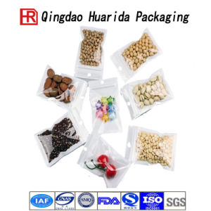 Resealable Flat Pouch Zip Lock Plastic Packaging Bag pictures & photos