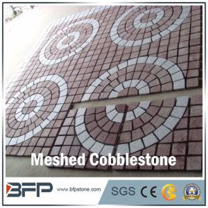 Multicolor Pattern/Medallion for Meshed Cobblestone for Driving Way pictures & photos