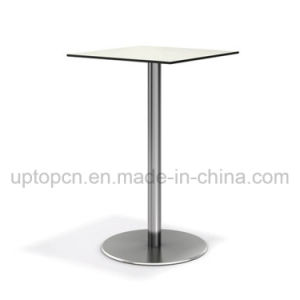 Square High Bar Table Furniture with Composite Board Table Top (SP-BT671) pictures & photos