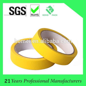 High Quality 170 Degree Rubber Glue Colored Masking Tape pictures & photos