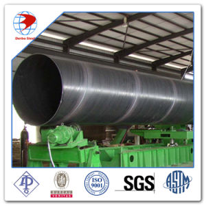 API 5L Grb Psl1 Spiral Welded Lasw ERW Steel Pipe pictures & photos