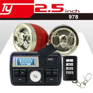 LED Display Clock Motorcycle Alarm Waterproof Hot Sale Audio pictures & photos