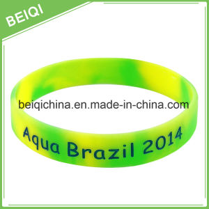 Manufacture OEM Design Promotional Gifts Christian Silicone Wristband pictures & photos