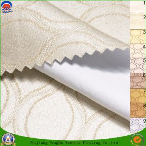 Home Textile Woven Waterproof Flame Retardant Blackout Jacquard Polyester Curtain Fabric pictures & photos