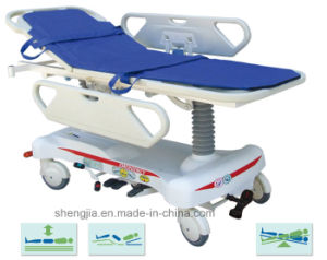 Sjm004 Luxurious Hydraulic Rise-and-Fall Stretcher Cart