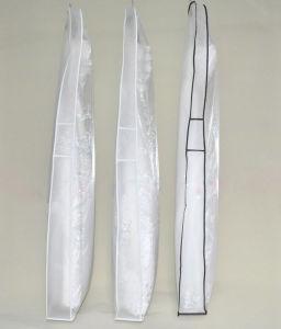 Translucent Soft Light Glass Yarn Wedding Dress Garment Bag pictures & photos