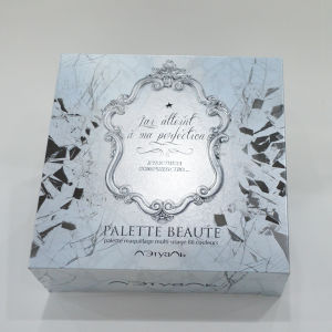 Fashion Brand Design Paper Cosmetic Box with Embossing Printing pictures & photos