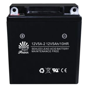 VRLA Motorcycle Battery 12V 5ah with CE UL Certificate Called 12V5A-2 pictures & photos