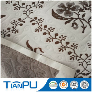 OEM Anti Bedbug Treatment 100% Poly Knit Jacquard Mattress Ticking pictures & photos