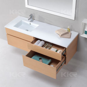 Ce Approved White Solid Surface Washing Basin for Bathroom pictures & photos