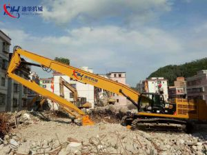 26.5m Three Segment High Reach Boom for Demolition pictures & photos