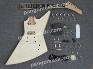 Pango Explorer Style DIY Electric Guitar Kit / DIY Guitar (PEX-617K) pictures & photos