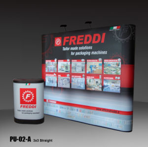 3X3m PVC Pop up Frame Trade Show Advertising Equipment Display Stand (PU-02-A) pictures & photos