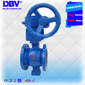 Worm Gear Box Wcb Body V Type Ball Valves pictures & photos