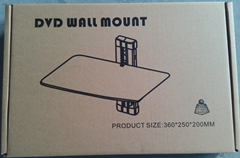 Tempered Glass DVD Wall Mount/DVD Sheif pictures & photos