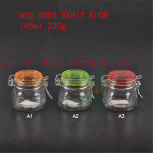 Glass Storage Jar Various Glass Seal Jar 145ml Small Jar with Lid pictures & photos