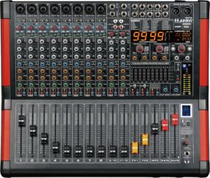 Special New Design Mixer GM Series Professional Amplifier pictures & photos