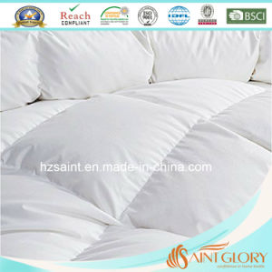 Wholesale White Goose 5% Down 95% Feather Duvet Duck Down and Feather Comforter pictures & photos