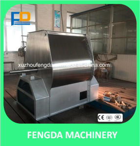 Custom-Made Simple Mantainance Mixer Machine for Animal Feed-Single Shaft Paddle Mixer pictures & photos