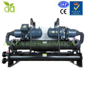 250ton Water Cooled Twin Screw Compressor Water Chiller pictures & photos